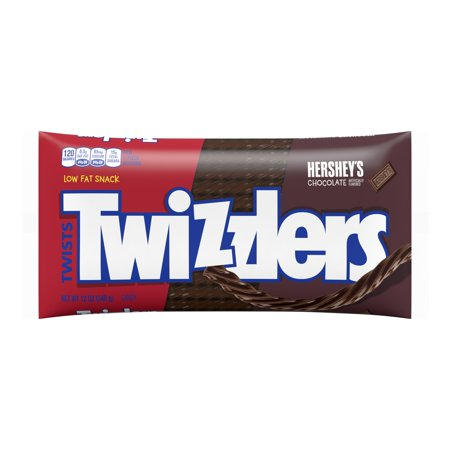 Twizzlers, Chocolate Twists Licorice Chewy Candy, 12 Oz.](Halloween Chocolate Candy Apples)