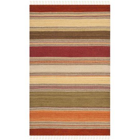 Safavieh Striped Kilim Majorie Wool Area Rug or Runner ()