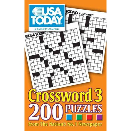 Usa Today Crossword 3  200 Puzzles From The Nations No  1 Newspaper