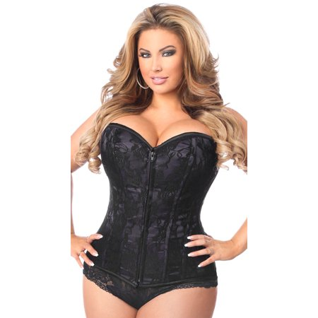 d3a96e81227 Plus Size Lavish Black Lace Corset