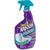 Kaboom Plus Disinfex Fresh Scent 3-in-1 Bathroom Spray, 30 fl oz