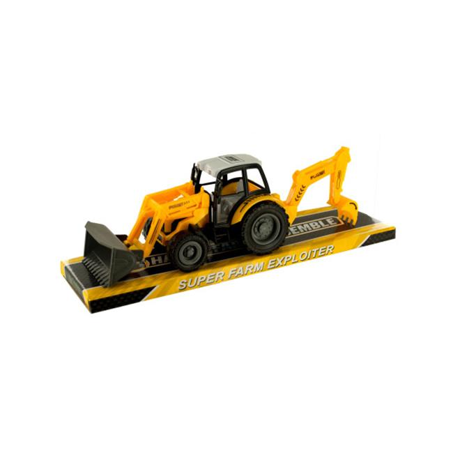 Bulk Buys OF400-12 Toy Farm Tractor, 12 Piece by