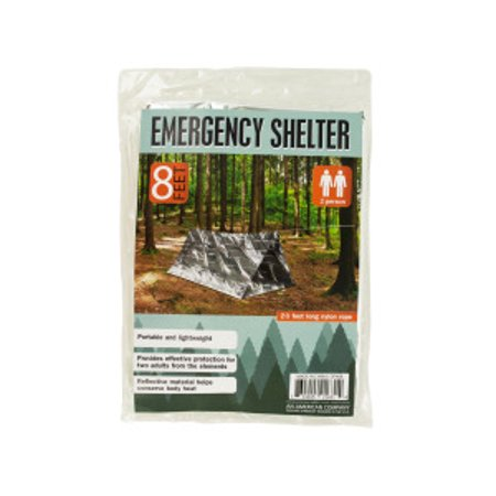 Bulk Buys OF468-12 2 Person Emergency Shelter, 12 Piece