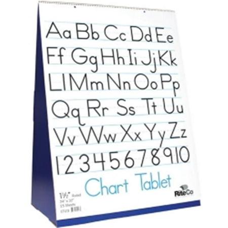 Flipside FLP30501 Spiral Bound Flip Chart Stand with Tablet Set