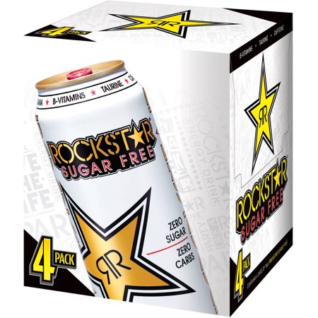 Rockstar Diet Energy Drink  4 Ct 64 Fl Oz