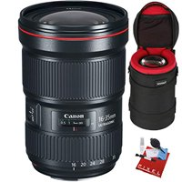 Canon EF 16-35mm f/2.8L III USM Lens with Heavy Duty Lens Case