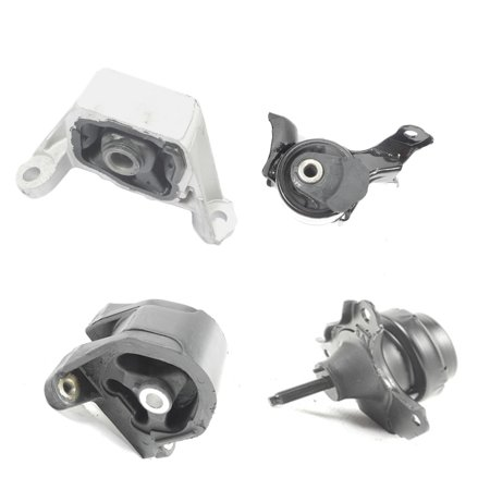 2002-2006 Honda CR-V 2.4L Motor & Trans Mount Kit 4PCS for Manual Transmission 02 03 04 05 06 A4508 A4528 A4549 A6596