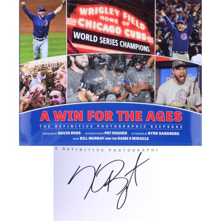Kris Bryant Chicago Cubs 2016 MLB World Series Champions Autographed A Win for the Ages Book - Fanatics Authentic Certified