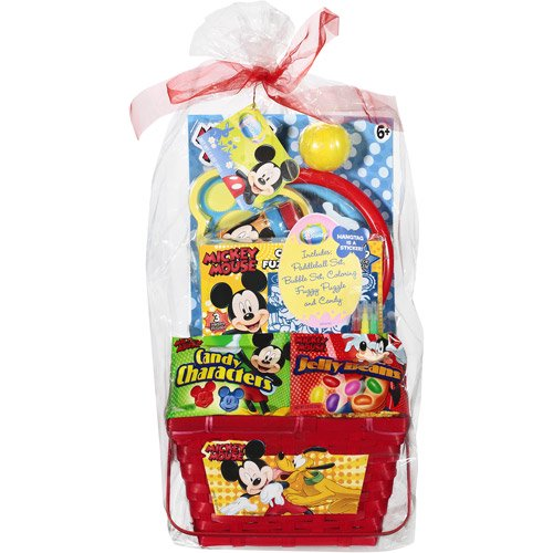 Mickey mouse filled easter basket walmart mickey mouse filled easter basket negle Images