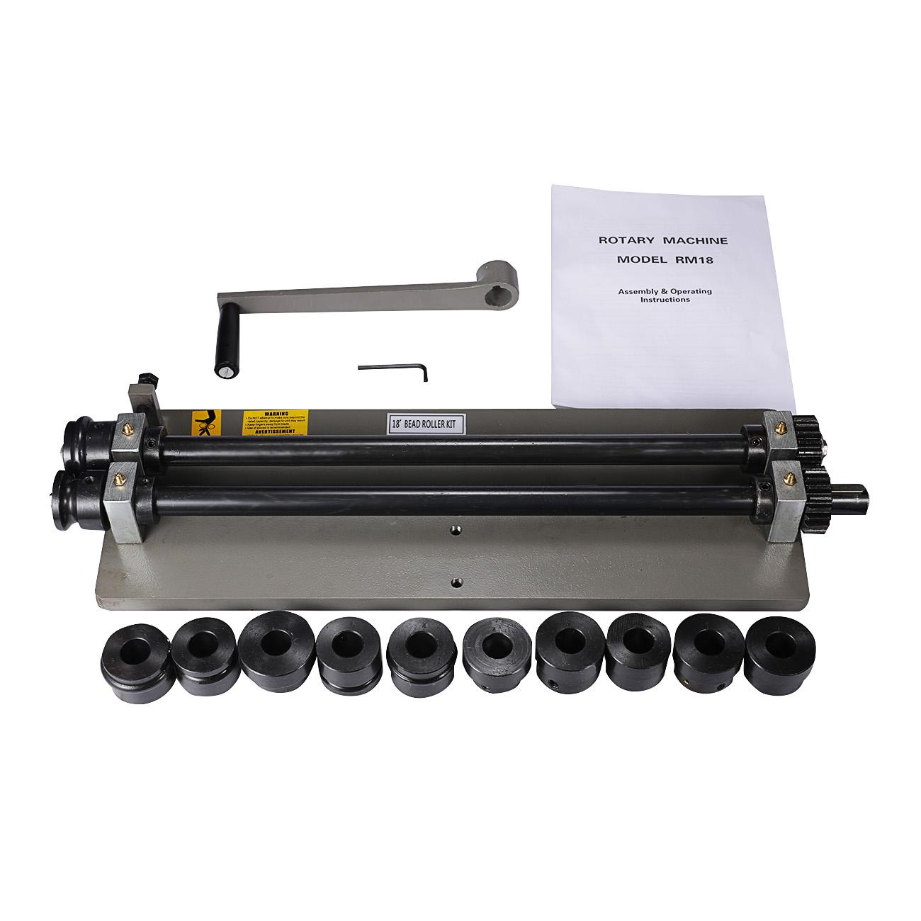 Woodward Sheet Metal Bead Roller Steel Gear Drive Bench M...