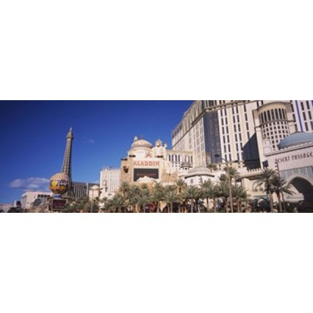Hotel in a city Aladdin Resort And Casino The Strip Las Vegas Nevada USA Poster Print](Halloween City Jobs Las Vegas)