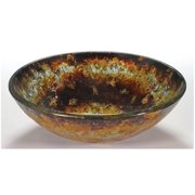 16.5 in. Tempered Glass Vessel Sink