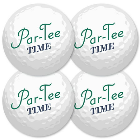 Golf Parties (Par-Tee Time - Golf - Ball Decorations DIY Birthday or Retirement Party Essentials - Set of)