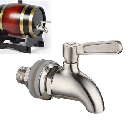 Beverage Dispenser Water Mixer Tap Faucet Stainless Steel Juice Wine Beer Barrel Beverage Dispenser;Beverage Dispenser Tap Faucet Stainless Steel Juice Beer Barrel Dispenser ()
