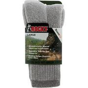 Rocky Wool Blend Hiker Socks 2-Pack