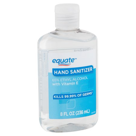 Equate Hand Sanitizer, 8 fl oz
