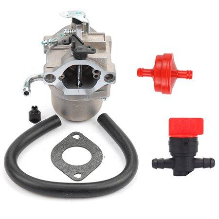 Off Road Carburetor - HIPA Carburetor For Briggs & Stratton 590399 796077 Old Briggs 796077 Carburetor Fuel line Fuel Filter Carb Gasket Shut Off Valve