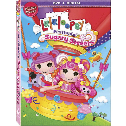 Lalaloopsy: Festival of the Sugary Sweets (DVD + Digital Copy) (With INSTAWATCH) (Widescreen)