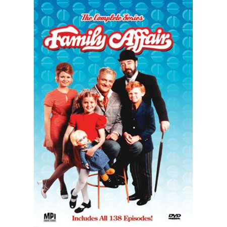 Family Affair: The Complete Series (DVD) (Paul And Young Ron Halloween)