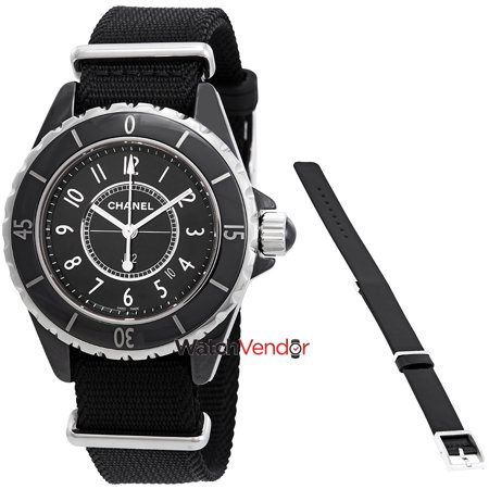 Chanel J12 Black Dial Ladies Watch H4657 Walmart Canada