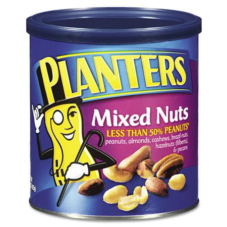 Planters Mixed Nuts: Peanut, Almond, Cashew, Pecan, Brazil Nut, 15 oz