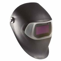 Speedglas 100 Series Helmets, 8 - 12, Black, 3.66 in x 1.73 in, Sold As 1 Each