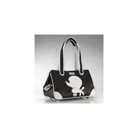 - PP-B-FL Pampered Poodle Faux Leather, Black