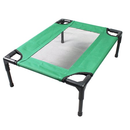Iconic Pet The Lazy Pet Cot  Dark Green  Small