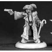 reaper miniatures sly withers, street boss #50053 chronoscope rpg mini figure