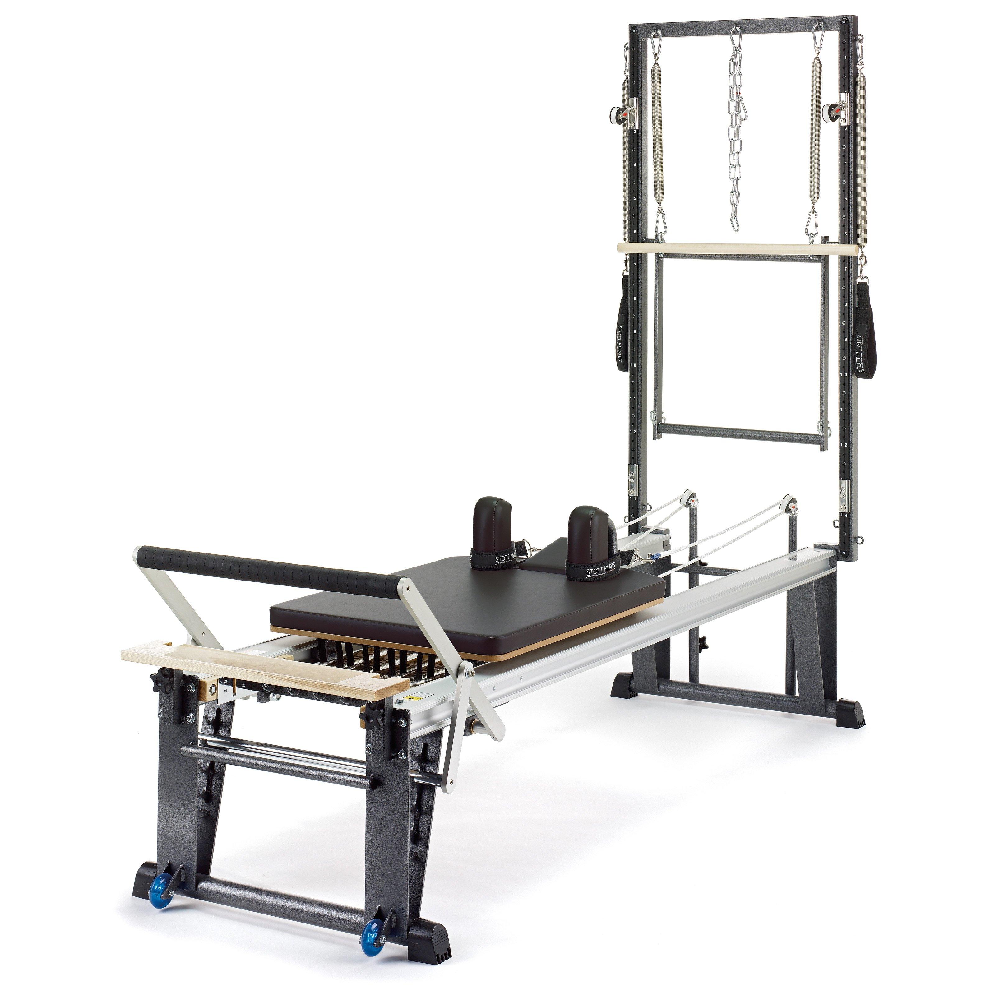 Stott Pilates Merrithew V2 Max Plus Rehab Reformer, Brown