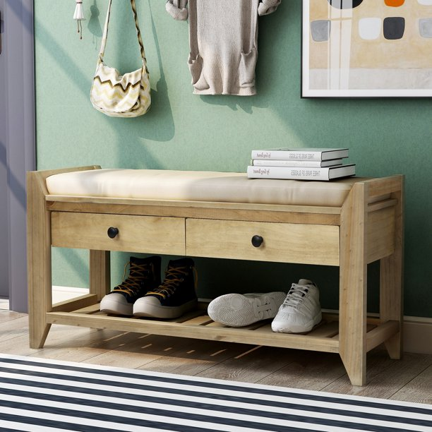 Shoe Storage Bench Farmhouse Entryway Bench With Shoe Storage Hallway Shoe Rack Organizer Bench With Drawers Hallway Shoe Footstool Bedroom Hallway Storage Bench 39 X 14 X19 8 A699 Walmart Com Walmart Com,Diy Christmas Decorations For Your Room