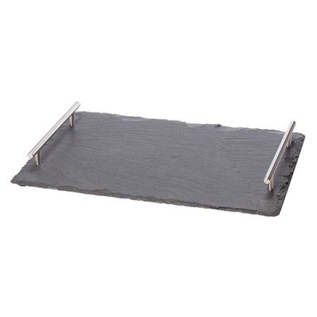 Oenophilia Slate Cheese Board with Handles ()