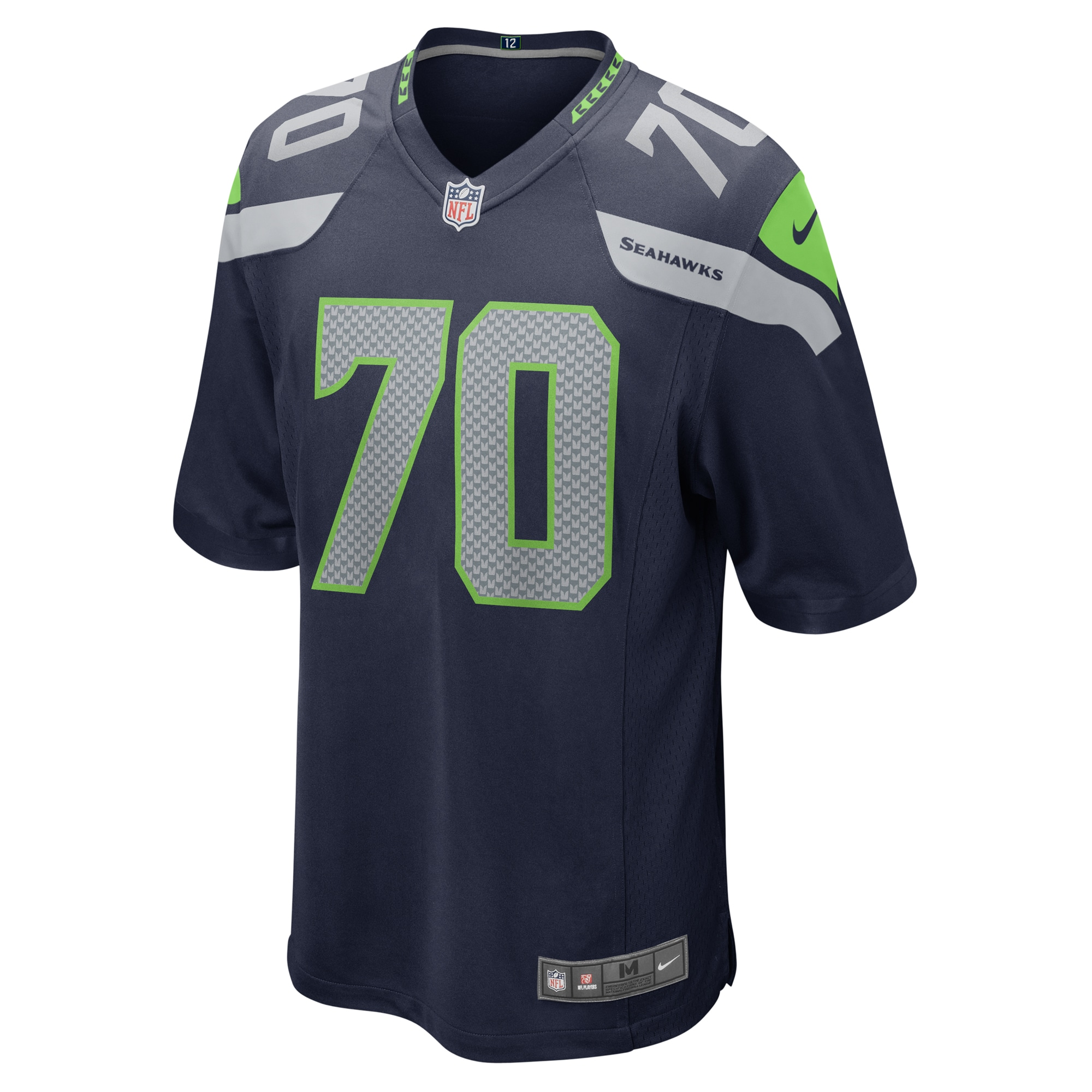 Mike Iupati Seattle Seahawks Nike Game Jersey - College Navy