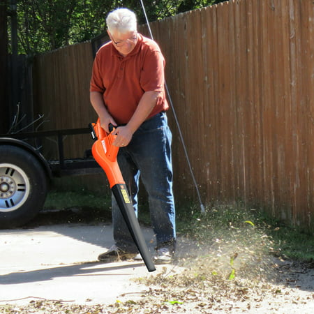 Costway 20V 2.0Ah Cordless Leaf Blower Sweeper 130 MPH Blower Battery & Charger Included - image 7 of 10