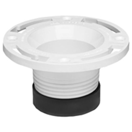 "OATEY 43651 Closet Flange, Replacement, 4"" Pipe Size"