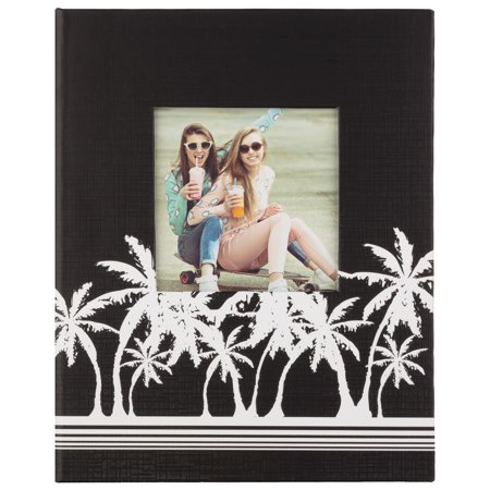 Photo Album Palm Tree (Pinnacle Palm Trees Framed Front Photo Album, Holds 208 - 4
