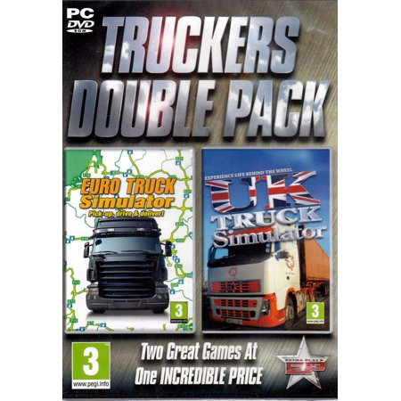 Set of 2 Trucking Sims - Euro Truck Simulator PLUS UK Truck Simulator PC (Euro Truck Simulator 2 Cheat Codes For Pc)