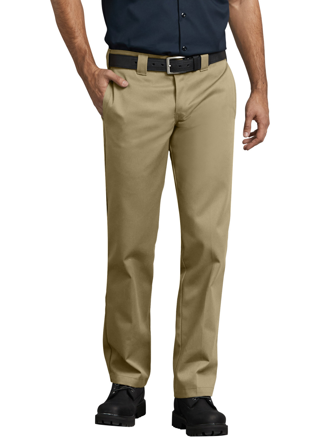 Dickies WP873 Men/'s Charcoal Slim Fit Straight Leg Work Pant Workwear