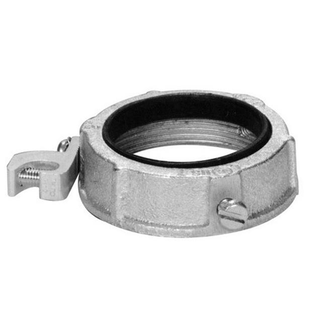 1.5 in. Insulated Ground Bushing With Lug - Zinc Die Cast - image 1 de 1