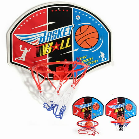 4 Types Mini Backboard Hoop Net Set Basketball System With Basketball Sporty Game Toy Gift For Kids Children(Model