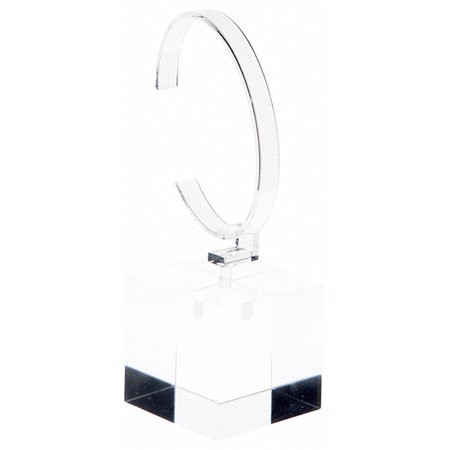 Plymor Clear Acrylic Watch Display Stand, 2