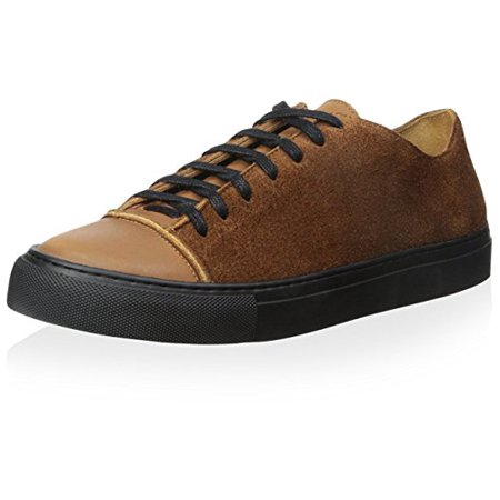 Damir Doma Cotton (Damir Doma Men's Fulcia Low Top Sneaker, Cognac, 43 M EU/10 M US)