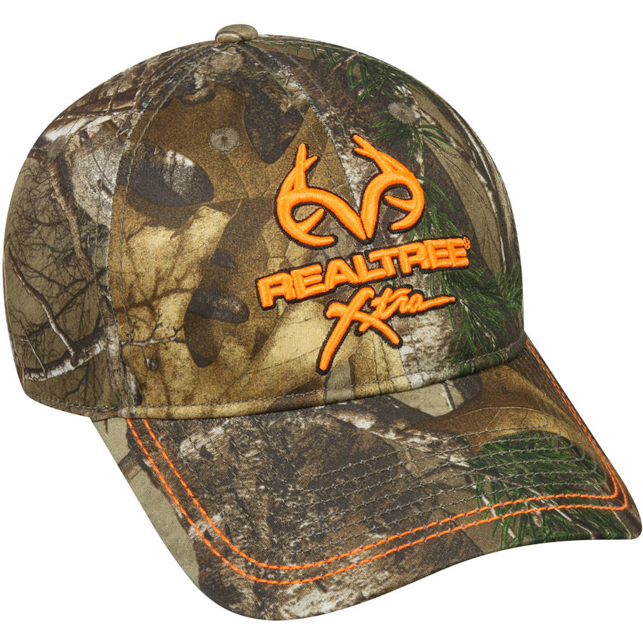 Realtree Performance Camo Cap, Realtree Xtra Camo, Flexible Fitted by Outdoor Cap Company