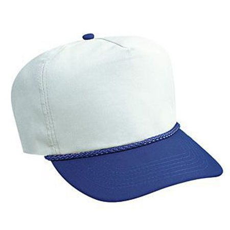 Otto Cap Poplin High Crown Golf Style Caps - Hat / Cap for Summer, Sports, Picnic, Casual wear and Reunion etc