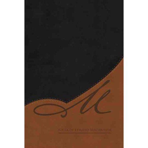 Biblia de Estudio MacArthur / MacArthur Study Bible: Reina Valera Revisada, Piel Elaborada / Bonded Leather