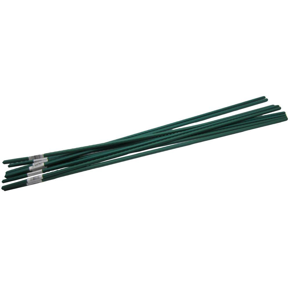 allfenz 5' Polyethylene Coated Garden Stakes (10-Pack) by ROBINSON TECH INTL CORP