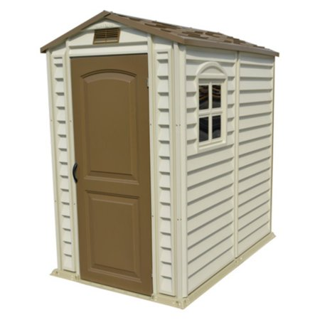 Duramax Building Products 4 x 6 ft. StorePro Storage Shed with Vinyl Floor Duramax Vinyl Outdoor Shed