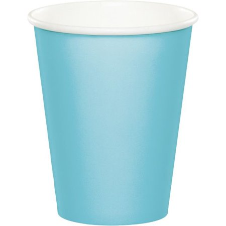Touch of Color Hot/Cold Cups, 9 Oz, Pastel Blue, 24 Ct