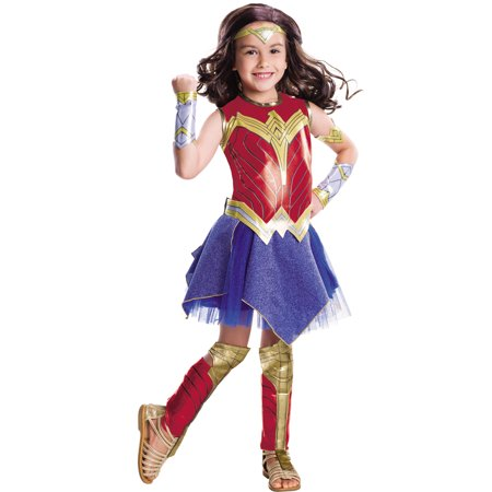 Wonder Woman Movie - Wonder Woman Deluxe Child Costume - Child's Wonder Woman Costume