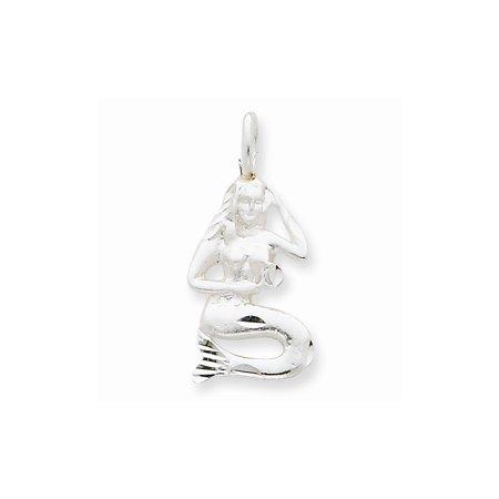 Sterling Silver Mermaid Charm](Little Mermaid Charms)